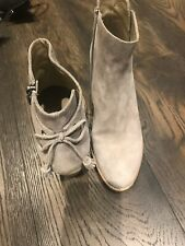 Mint Velvet Grey Ankle Boots Worn Briefly Once Size 5 38 Rrp £160