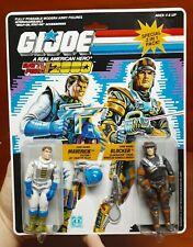 Gi Joe ARAH (Hasbro 1987) Battle Force 2000 MAVERICK/BLOCKER Moc!! Sealed!!