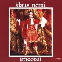 KLAUS NOMI - ENCORE (NOMI'S BEST)  CD 13 TRACKS INTERNATIONAL POP  NEW+