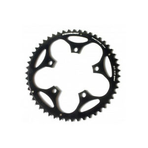 Stronglight Dural 5083 Outer Chainring 53T Shimano 9/10 130mm - Black
