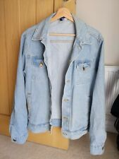 American Apparel Denim Jacket Mens Size Large