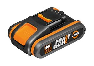 WORX Powershare™ 20V 2.0Ah MAX Lithium-ion Battery, w/ battery indicator