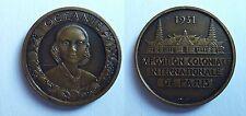 Médaille Exposition Coloniale Paris 1931. Océanie. Cuivre.