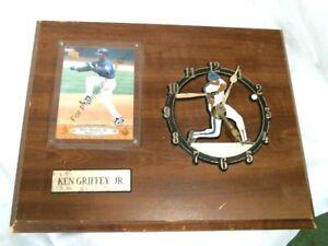 Ken Griffy JR.,  Wall Plaque clock