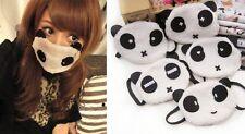 Lovely Cute Panda Anti-Dust Fluffy Warm plush Respirator Mouth Face Mask