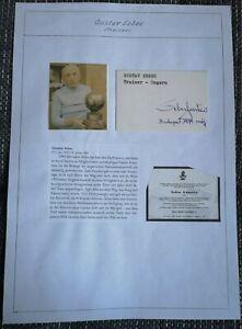 Gusztav Sebes original Autogramm,Ungarn, WM 1954, autograph, Trainer, verstorben