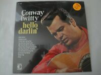 NEW Hello Darlin' CONWAY TWITTY VINYL LP ALBUM 1970 DECCA RECORDS ROCKY TOP