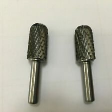 2pcs Dental Lab Model Equipment Ball Type Arch Trimmer drill heads separately
