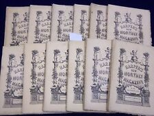 1883 HARPER'S MONTHLY MAGAZINE LOT 12 COMPLETE YEAR - BROOKLYN BRIDGE - WR 251