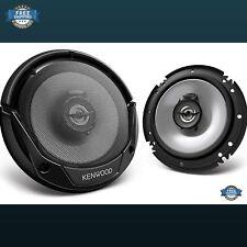 2 Kenwood KFC-1665S 6.5 Inch 600 Watt 2-Way Car Audio Coaxial Speakers