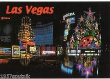 Riviera Las Vegas Hotel Casino Neon Westward Ho postcard Splash Crazy Girls E
