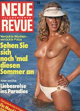 Kult-Illustrierte NEUE REVUE Nr. 34 von 1975, Gangsterkrieg, Karl May, Sommer