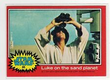1977 Star Wars Series 2 red Single Card #85 NM straight from a wax Pack