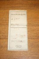 Antique 1899 Deed - Keatley Wilmington DE Cecil County