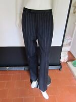 BNWT M&S Mens Sartorial Pure Wool Flat Front Navy Trousers RRP £79 Size 32/31
