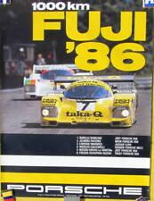 1986 PORSCHE 1000 KM  FUJI AFFICHE ORIGINALE JOST TRUST 956 KREMER 962 C