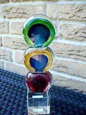 """Casablanca Design Glasskulptur """"balls"""" Blau/grün/rot 27057 Geschenk Top"""