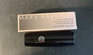 Mary Kay Gel Semi Matte Lipstick - Always Apricot Full Size .13 Oz
