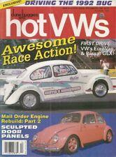 DUNE BUGGIES & HOT VW'S 1992 DEC - CUSTOM DOOR PANELS, KIT NATS, 92 BUG TEST