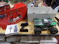 Redcat Volcano S30 RC black Racing 4x4 Nitro Monster Truck 2.4GHZ 1:10 EXTRAS!!!