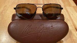 Maui Jim MJ 327 23 Guardrails Bronze/Copper Sunglasses Fantastic Condition!
