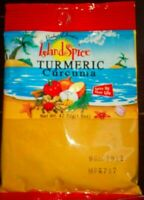 JAMAICAN ISLAND TURMERIC POWDER (CURCUNIA) -  1.5 OZ X 2 PACKS - FROM JAMAICA