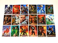 1996 FLEER ULTRA X-MEN WOLVERINE BASE 100 CARD SET! RARE DEADPOOL! JOE JUSKO!