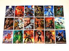 1996 FLEER ULTRA X-MEN WOLVERINE BASE 100 CARD SET! RARE DEADPOOL! JOE JUSKO!
