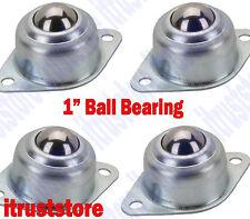 4PC BENCH Work Table Frame Bottom Rolling Ball Bearing Caster Wheeler Roller