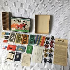 Totopoly The Great Race Game 1949 Edition john Waddington vintage spares