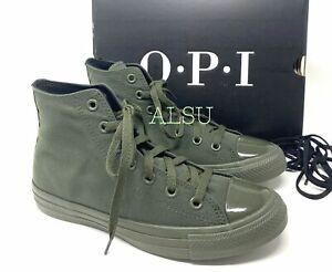 Converse x OPI Chuck Taylor AS High Canvas Thyme Green Men's Sneakers 165728C