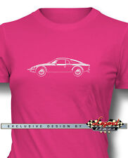 Matra Rene Bonnet DJet V VS Sports Car T-Shirt for Women - Multiple Colors Sizes