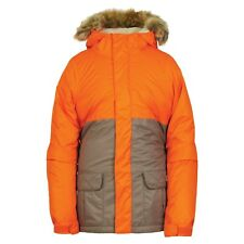 Youth Girl's 686 Six Eight Six Polly Ski Snowboard Snow Jacket Coral Size L