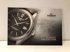 New - Catalogue Catálogo TISSOT - Classic Collection - English - 23,5 cm x 16 cm