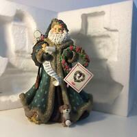 San Francico Music Box Company Christmas Blessings Santa  (B1)