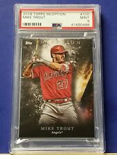 Mike Trout - 2018 Topps Inception  #100   PSA 9