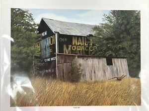 """Kathleen Green Signed Limited Edition Lithograph Art """"Lost Art"""" 10 x 12 1995 VTG"""