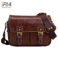 Vintage DSLR Carry Camera Case Shoulder Bag For Panasonic Canon Nikon Size L