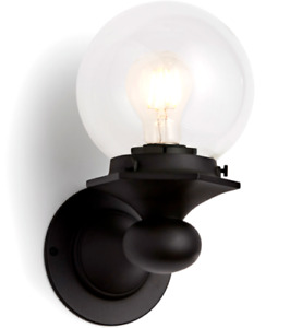 Rejuvenation Home Lighting A3112 Pittock Single Wall Sconce Only - Black Bronze