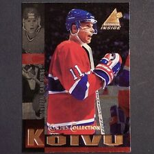 SAKU KOIVU - 1997/98 Pinnacle Coach's Collection #13 *** SAKU KOIVU ***