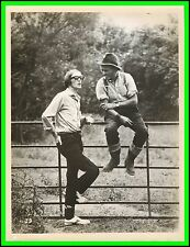 "JOHN MILLS & FRANK NESBITT (Director) in ""Dulcima"" Original Photo 1971 - RARE"