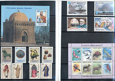 Tajikistan - Nice Stamp and Souvenir Sheet Selection 1996 - 2003 MNH **