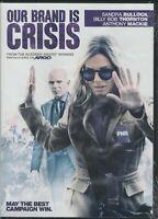 Our Brand Is Crisis (DVD 2016) Sandra Bullock- Billy Bob Thornton