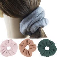 au Elastic Hair Rubber Band Hair Soft Plush Hair Band Hair Accessories