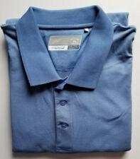 Cutter & Buck XXXL Dry Tec Blue Polo Shirt