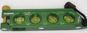 Checkpoint torpedo level green no dog  Ultra mini G4 electrician's  conduit bend