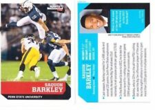 SAQUON BARKLEY 2017 SPORTS ILLUSTRATED 1ST EVER PRINTED COLLEGE ROOKIE CARD!