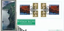 2004 Benham FDC BLCS 274b Northern Ireland, Retail Booklet, with info card