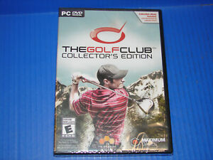 The Golf Club *COLLECTOR'S EDITION* (PC / DVD-ROM)   ***NEW SEALED***