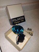Vintage Polaroid Flashgun Model #268 In Box w/ 5 Flash Bulbs
